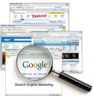 Search engine, Search-Engine-Marketing