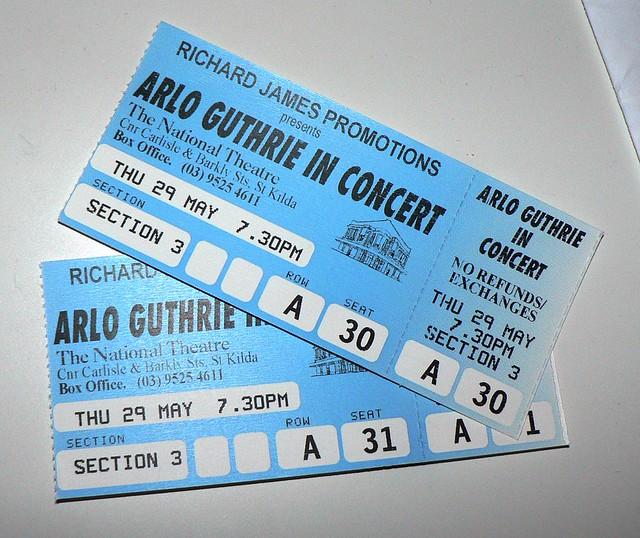 Header of Arlo Guthrie