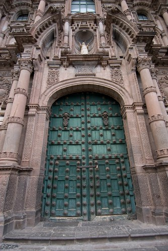 the cathedral side door