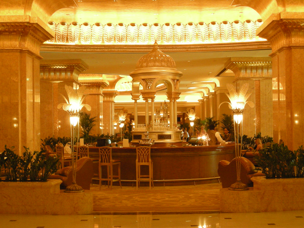 The Caviar Bar in the Emirates Palace