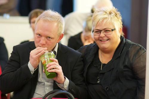 Bjarni Karlsson og Jóna Hrönn Bolladóttir