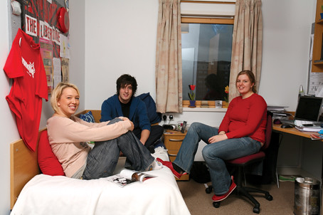 Student Village Frenchay Campus- en-suite rooms with internet access