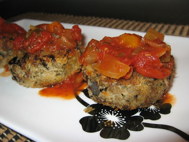 Eggplant Croquettes with Marinara Sauce | Flickr - Photo Sharing!