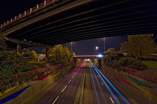 city longexposure urban cars night geotagged lights motorway streak cardiff explore f22 flyover wfc stevecastle sigma1020 gabalfa diamondclassphotographer flickrdiamond 59secs geo:lat=51504811 geo:lon=3198247