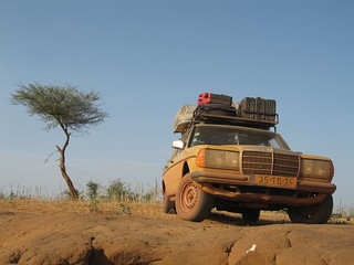 On the way to the Dogon, Mali