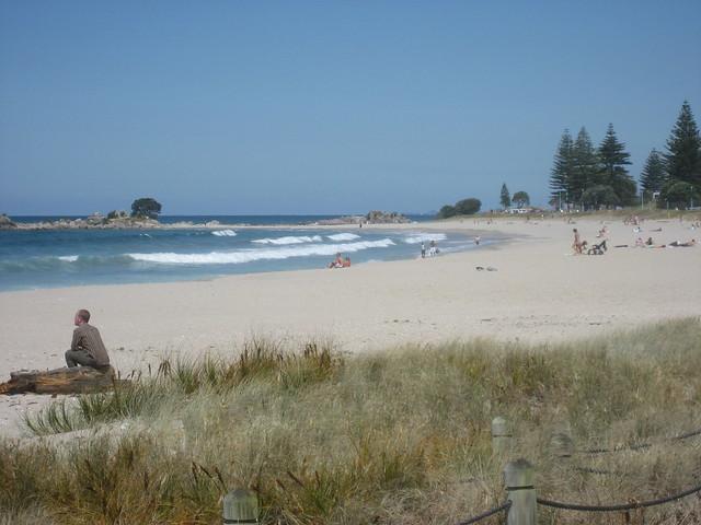 пляж тауранга фото