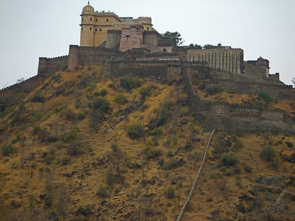 Kumbalgarh Fort during Rajasthan Trip