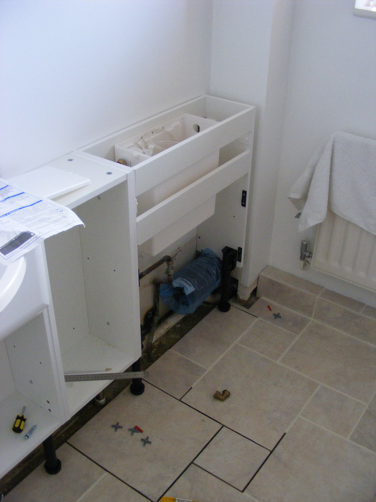 DAY 65 WC CUPBOARD AND CISTERN FITTED MATT ROBINSON FLICKR