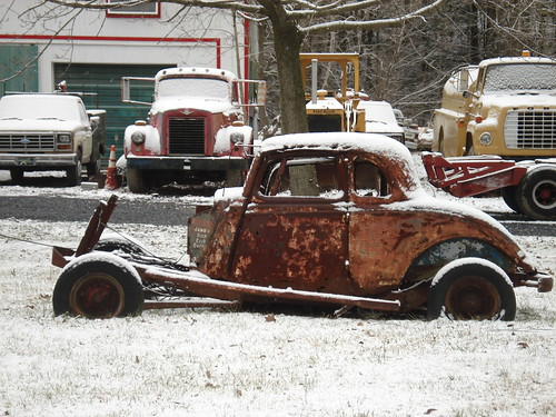 Rusted Ford Coupe by carcrazy6509