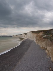 View west from Birling Gap