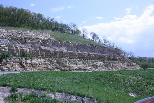 Bluffs along 151