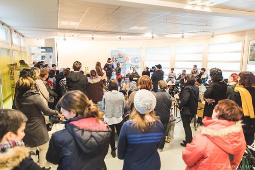 Résidence Histoires Connectées avec Coline Pierré à l'École Trégain - 7 février 2017