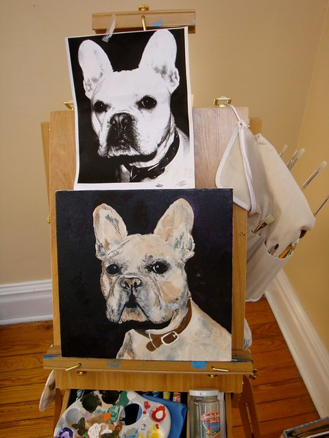 Painting of Otis