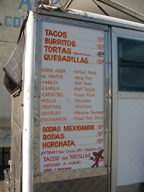 Food Truck Menus At Magnoia Market