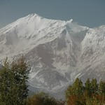 Fresh Snow on Mountains - Pamir Mountains, Tajikistan