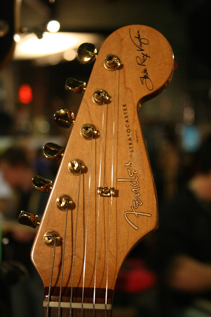 Photo:Fender Stratocaster SRV By abragad