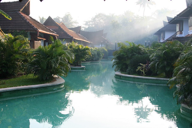 Kumarakom Lake Resort Meandering Pool View Flickr Photo Sharing