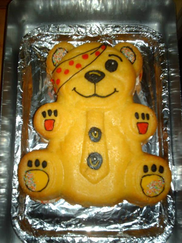 Pudsey Bear Cake Decorations Tesco