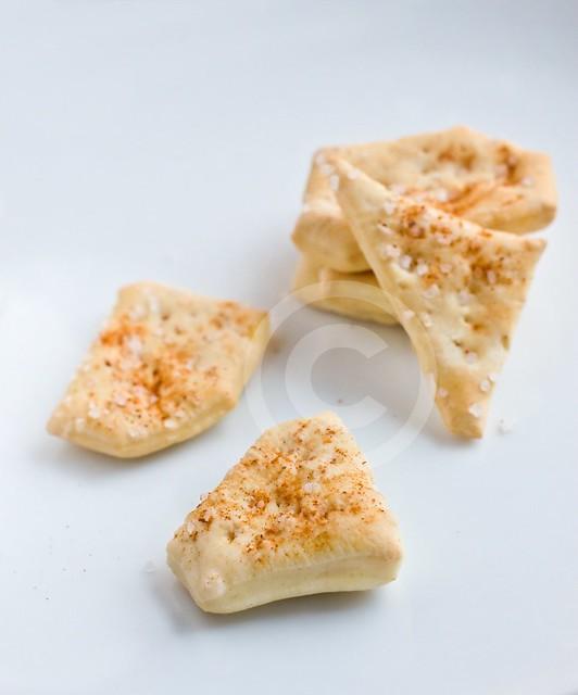 Homemade Saltines: Cayenne Saltines