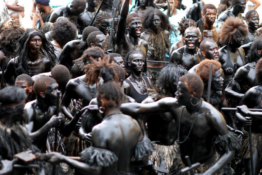 Carnaval de Mindelo - Cap-Vert - Black power