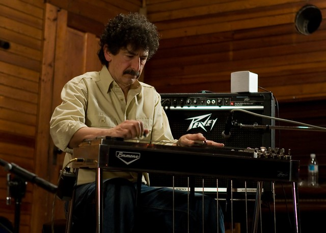 Gordon Titcomb on pedal steel guitar