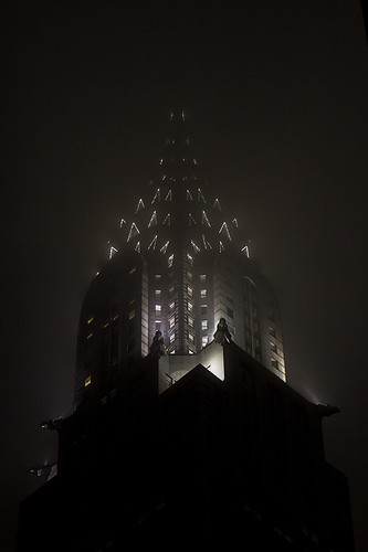 a foggy night in gotham