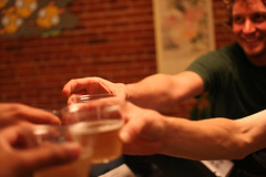 Toast to the completion of our new album.