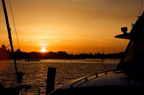 sunrise elizabethcity pasquotankriver beamcatchers