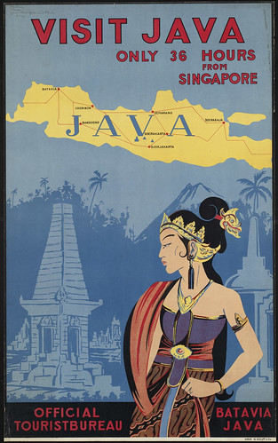 Visit Java. Only 36 hours from Singapore
