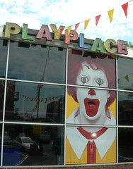 Is it just me or is Ronald Mcdonald an extremely sinister looking clown?