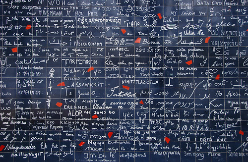 Monmartre, Paris (I love you wall)