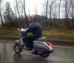 scooter, vehicle, motorcycling, vespa,