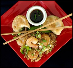 Shrimp fried rice...