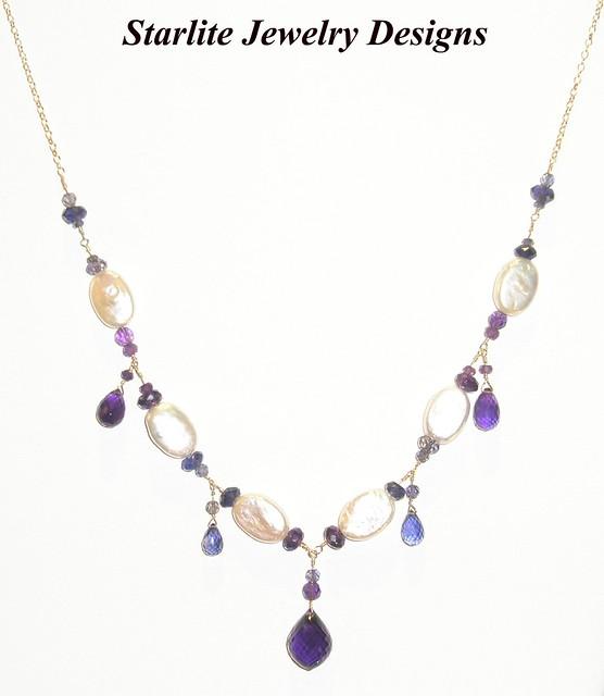 starlite jewelry designs briolette necklace jewelry design