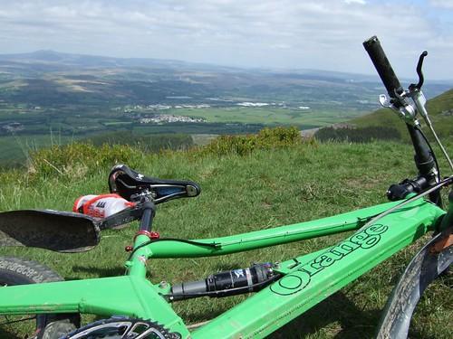 Rest stop above Llyn Fach