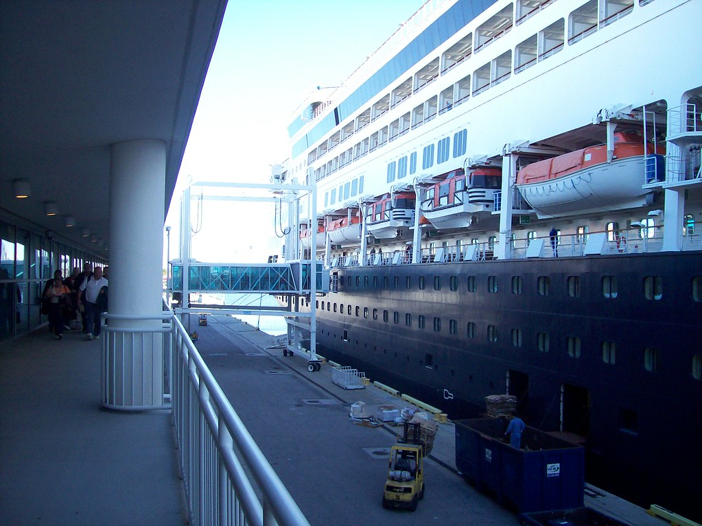 Veendam Docked in Tampa