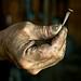 Smith's hand by Anthony Piraino