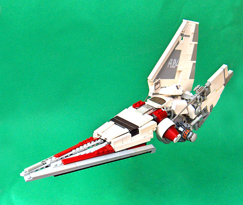V-wing VS Lambda shuttle