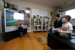 infantile interference with the mario kart race    M…