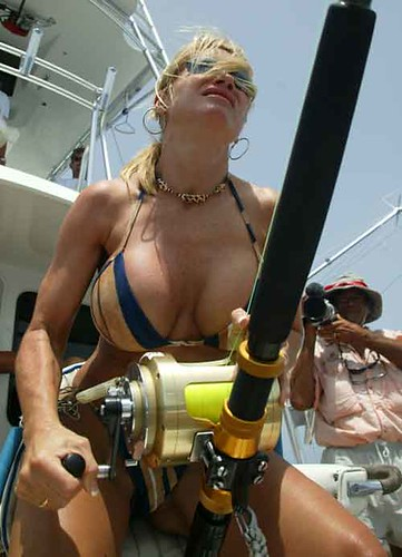 2152927320 ff0226f219 Hook, line and cleavage: A Guyism tribute to women fishing