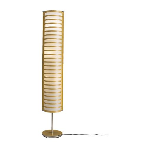 Strimma floor lamp ikea flickr photo sharing for Wooden floor lamp base ikea