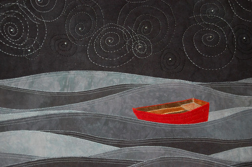 Detail of Little Red Boat