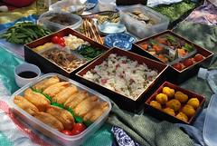 meal, lunch, ekiben, food, dish, cuisine, osechi,