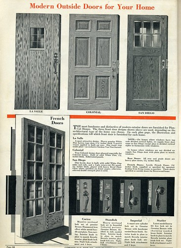 1930s house interiors. Gordon Van Tine  Antique Doors Interior Exterior 1930s Interiors vintage color schemes