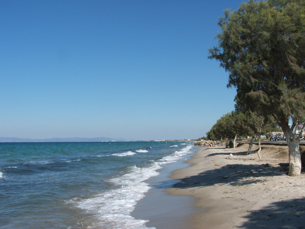 Beach in Kos