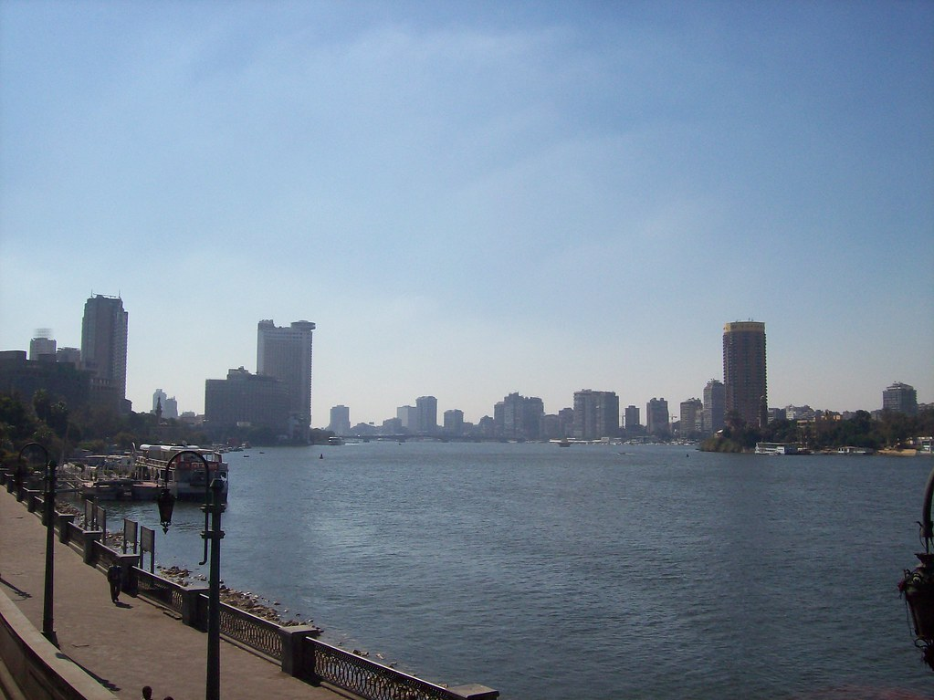Nile and Cairo Skyline
