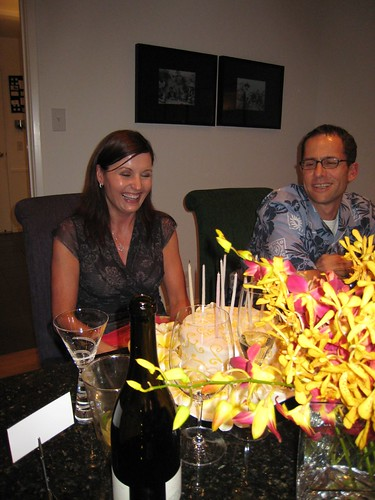 party, orchids, fuchsia, yellow, birthday c… IMG_0018