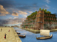 Hanging Gardens of Babylon by Wonders