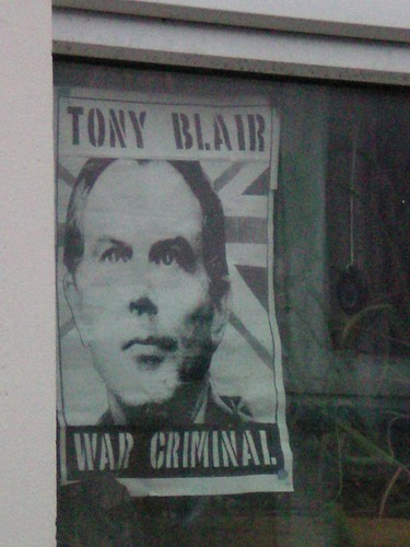 Poster of Tony Blair,