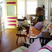 Upstairs sunny livingroom at My Beach House by tybeetyme
